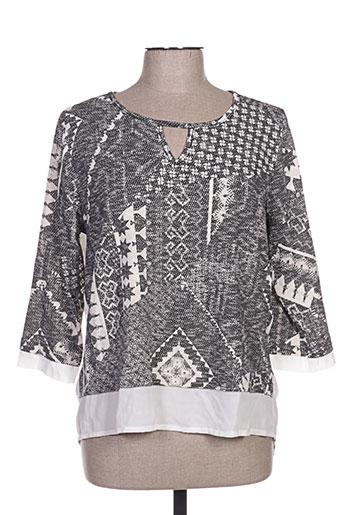 sun light chemises femme de couleur gris