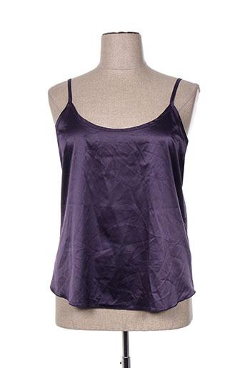 giani f chemises femme de couleur violet