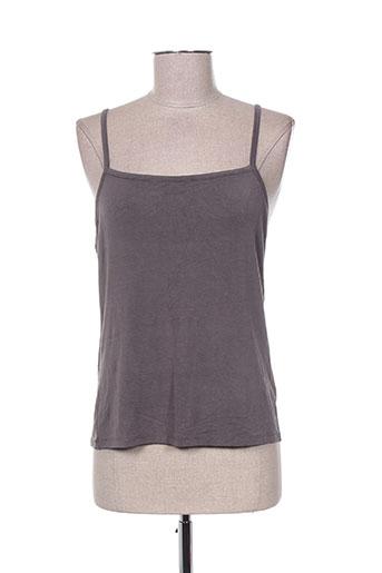 malvin chemises femme de couleur gris