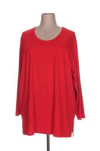 kjbrand tuniques femme de couleur rouge