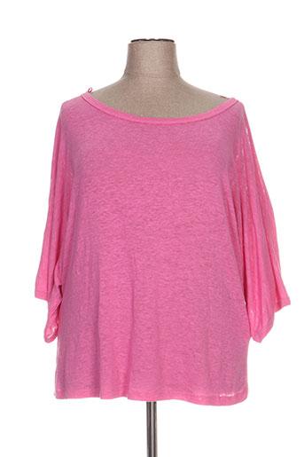 biluzik pulls femme de couleur rose