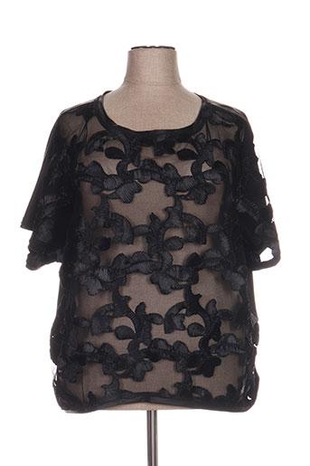 mat. chemises femme de couleur noir