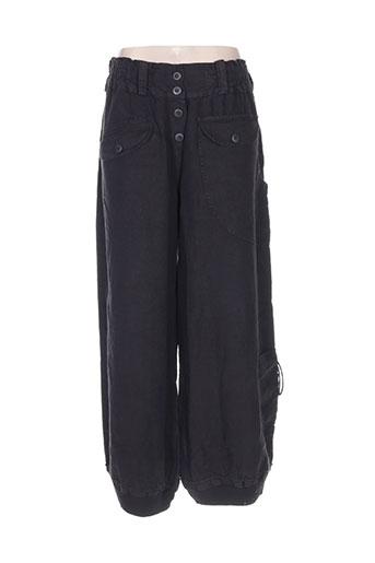 completo pantalons femme de couleur noir