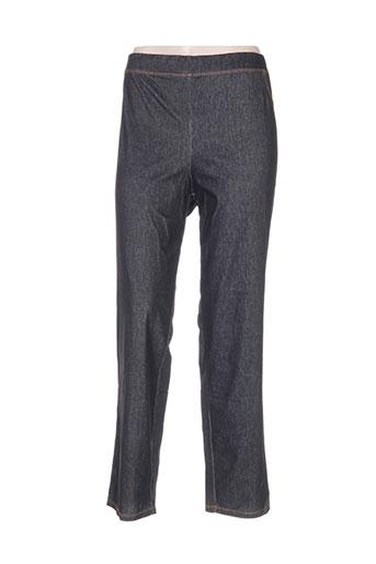 biluzik pantalons femme de couleur noir
