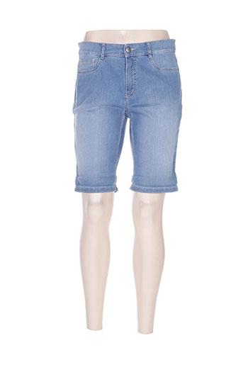 ascari shorts / bermudas femme de couleur bleu