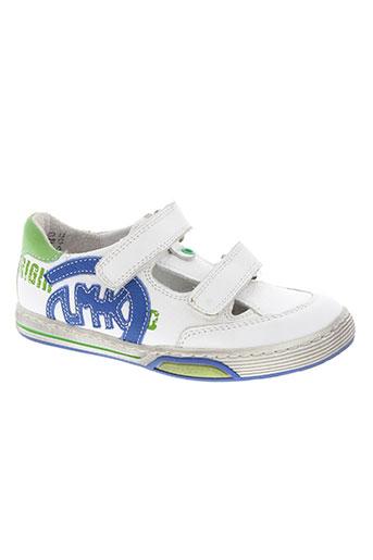 little mary chaussures garçon de couleur blanc