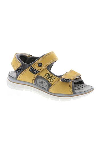 primigi chaussures garçon de couleur jaune