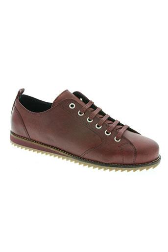 maxcess chaussures homme de couleur rouge