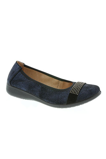 inea chaussures femme de couleur bleu