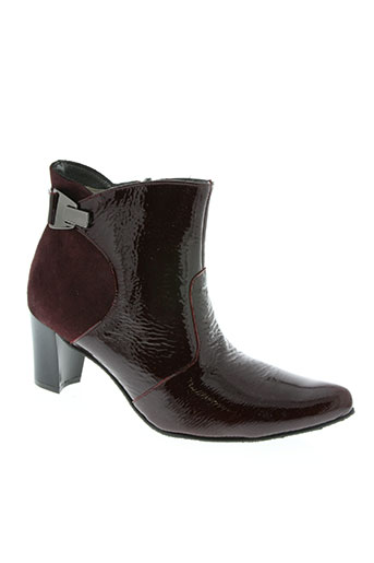 Bottines/Boots rouge BUTTERFLY pour femme