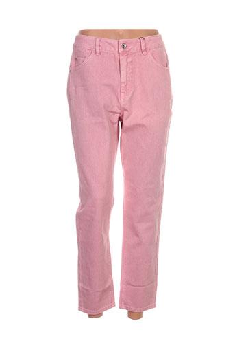 Jeans coupe slim rose VERO MODA pour femme