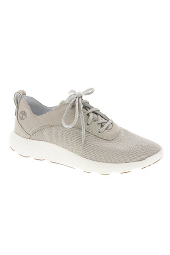 timberland chaussures homme de couleur beige