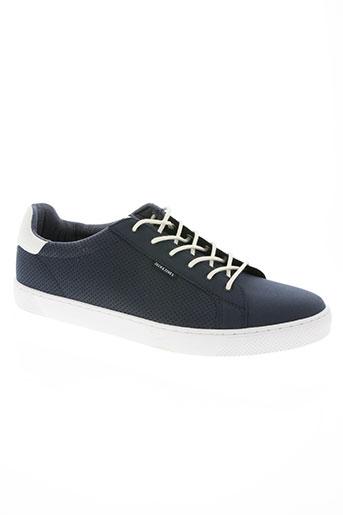 jack EFFI_CHAR_1 jones chaussures femme de couleur bleu