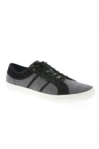 jack EFFI_CHAR_1 jones chaussures femme de couleur gris