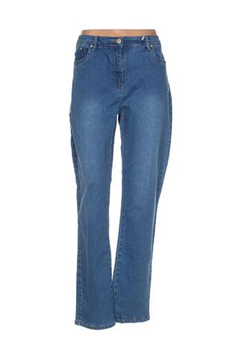azay jeans jeans femme de couleur bleu