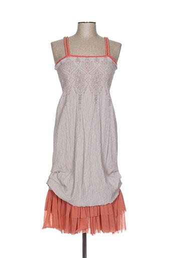 moloko robes femme de couleur orange
