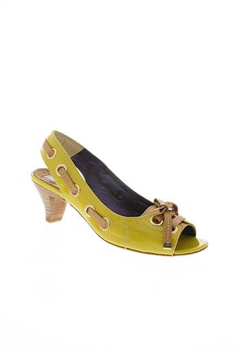vic matie chaussures femme de couleur vert