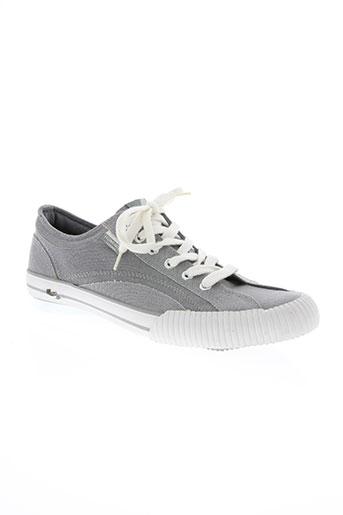 hungaria chaussures homme de couleur gris