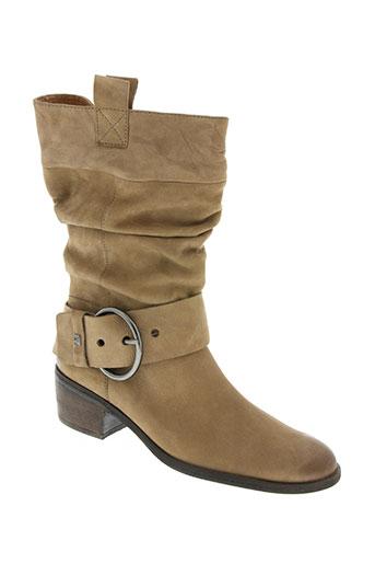karston chaussures femme de couleur beige