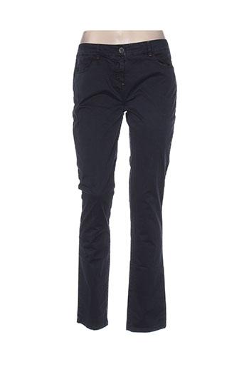 so soon pantalons femme de couleur bleu