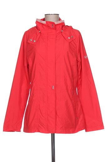 bulté manteaux femme de couleur rouge