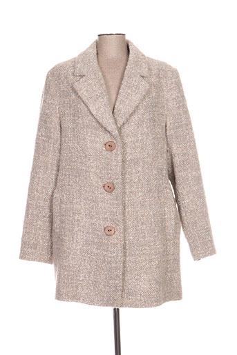 bulté manteaux femme de couleur beige