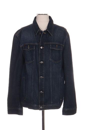 mexx vestes homme de couleur bleu