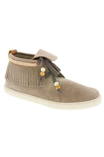 victoria chaussures femme de couleur beige