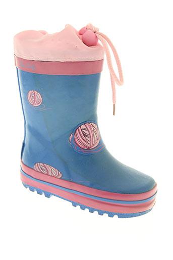 be only chaussures fille de couleur bleu