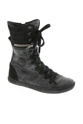 pataugas chaussures fille de couleur noir