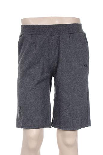 li-ning shorts / bermudas garçon de couleur gris