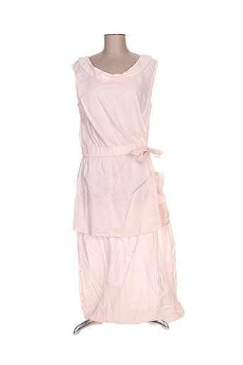 animale robes femme de couleur rose