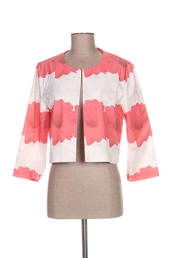 Veste chic / Blazer rose CAMELOT pour femme