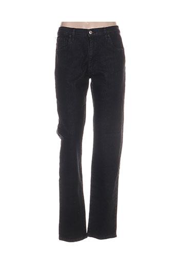 desgaste jeans femme de couleur noir