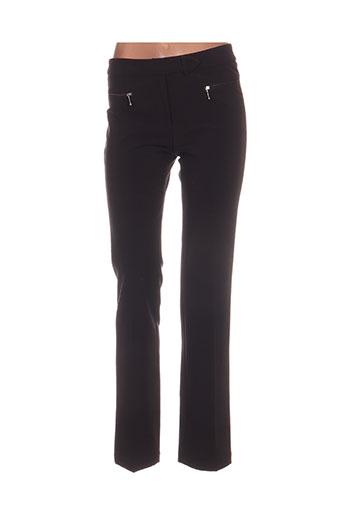 Pantalon casual marron ENTRACTE pour femme