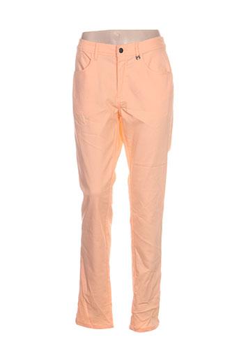Pantalon casual orange MADO ET LES AUTRES pour femme