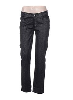 Pantalon casual noir DANIEL HECHTER pour femme