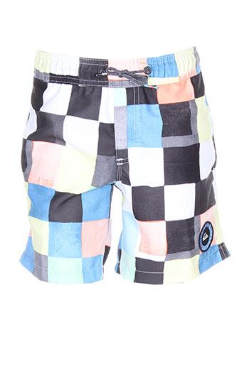 quiksilver maillots de bain garçon de couleur bleu