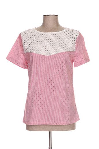 mamouchka chemises femme de couleur rose