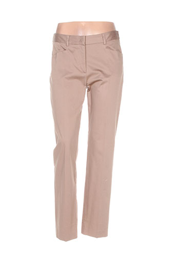 gerard darel pantalons femme de couleur marron