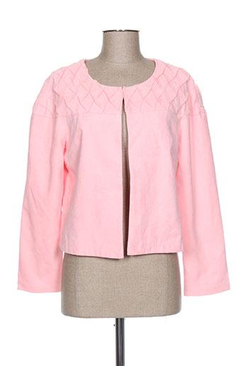 lovie vestes femme de couleur rose