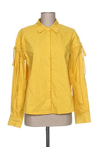 lili EFFI_CHAR_1 lala chemises femme de couleur jaune