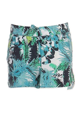 tiffosi shorts / bermudas fille de couleur bleu