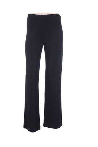 didier parakian pantalons femme de couleur noir