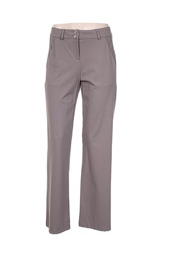 indies pantalons femme de couleur marron