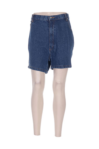 easyline shorts / bermudas femme de couleur bleu