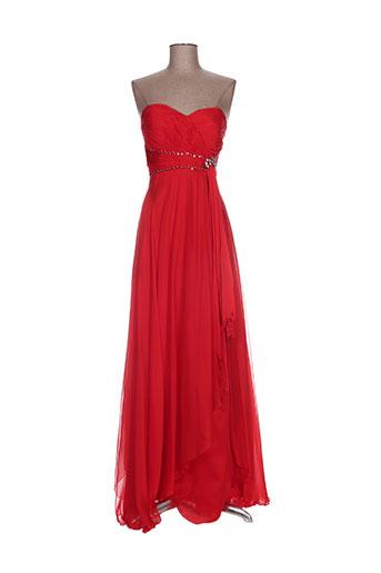 juju & christine robes femme de couleur rouge