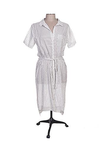 cks robes femme de couleur blanc