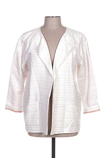 Veste casual blanc WMN pour femme