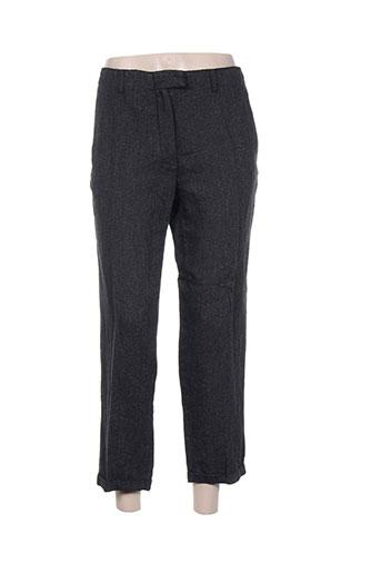 masscob pantalons femme de couleur gris